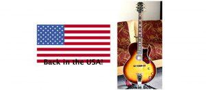 US flag, gibson howard roberts