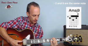 jazz chords guitar upper extensions