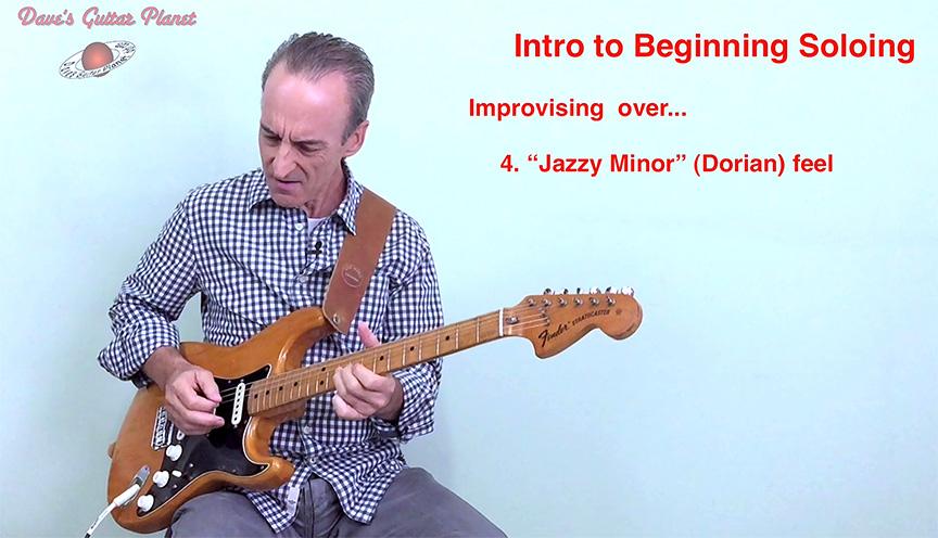 Beginning soloing