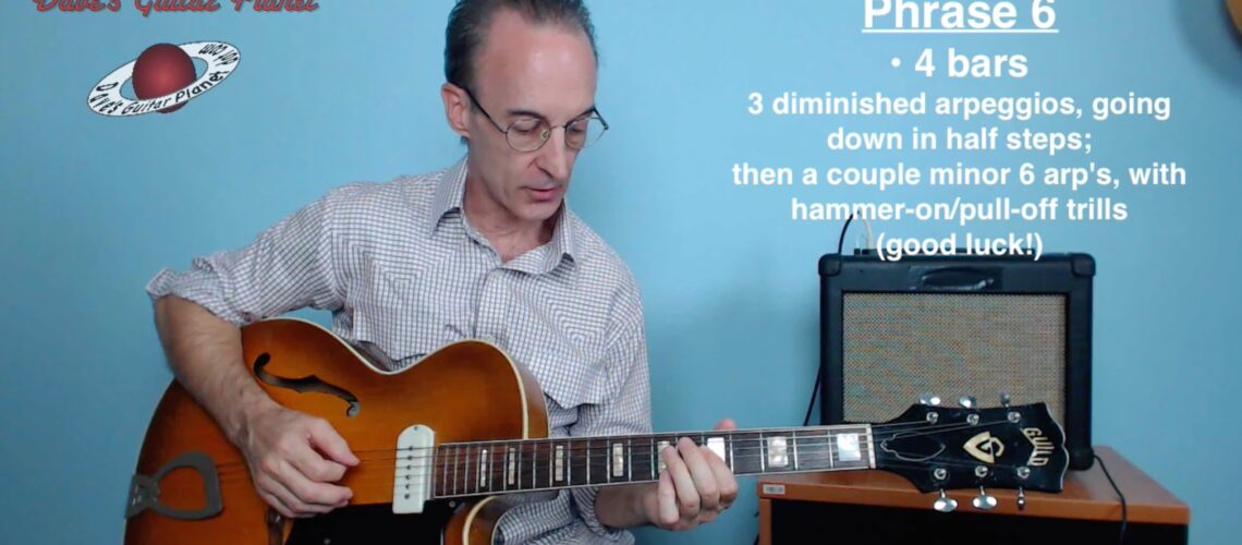 charlie christian airmail special solo lesson